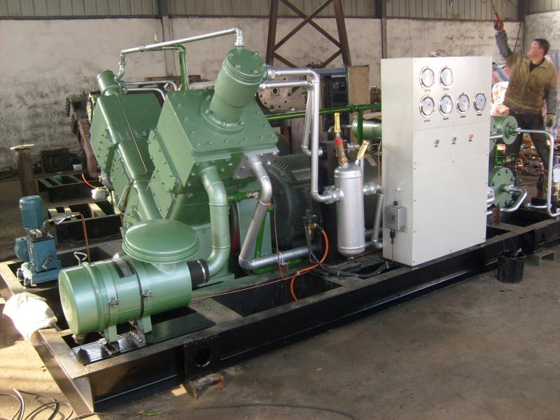 V-6立方-150公斤无油压缩机系列(包头钢铁集团有限公司)