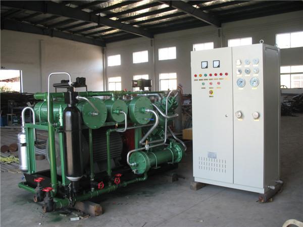 3立方-350公斤无油压缩机系列(柳州钢铁股份有限公司)