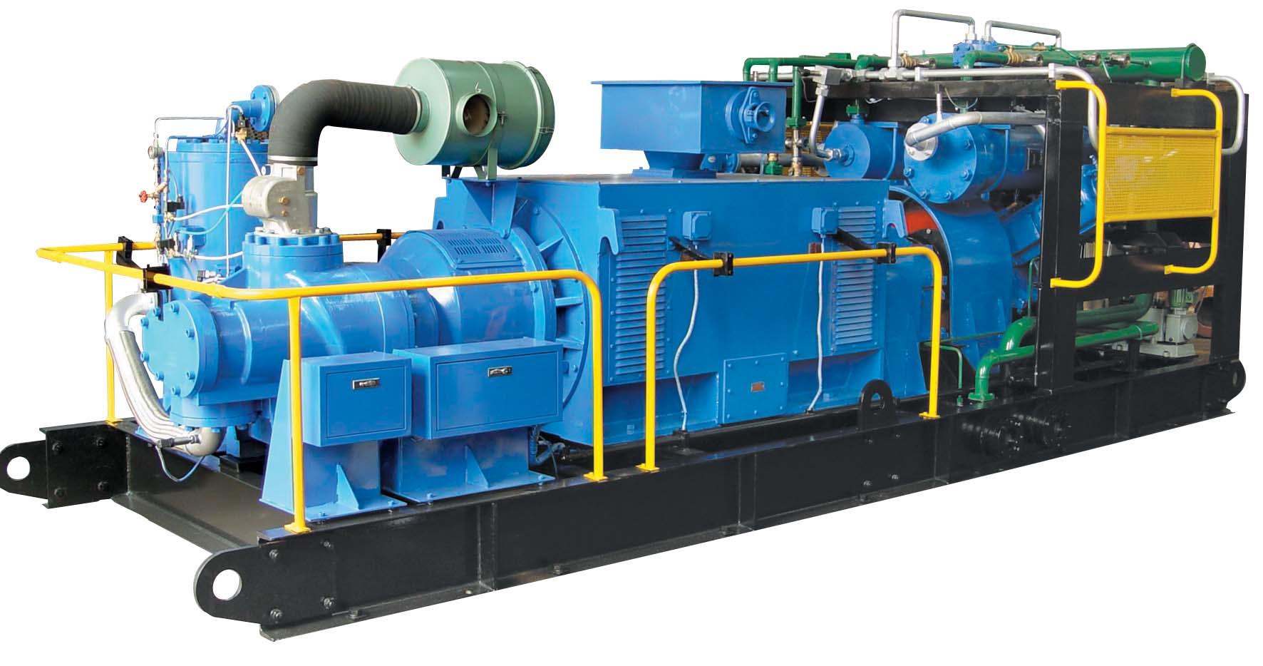 20立方-400公斤螺杆活塞串联式空压机系列