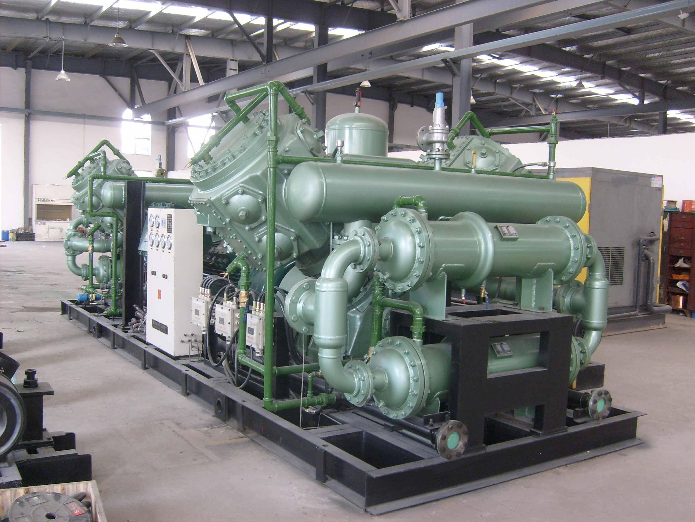 50立方-8公斤无油压缩机系列(中石油工程院设计所)
