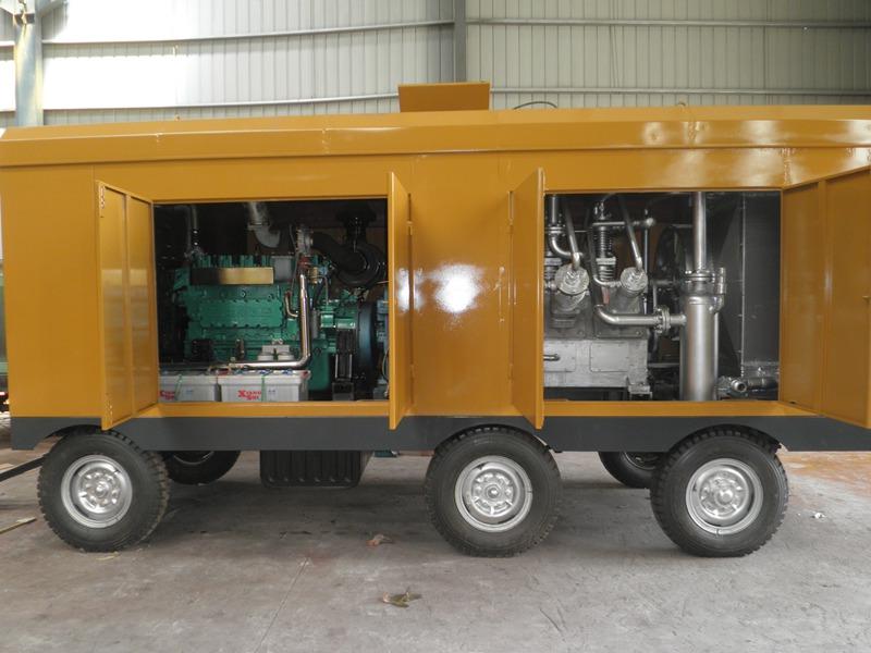 30立方-150公斤柴油移动式增压机系列(中石化西南油气公司)